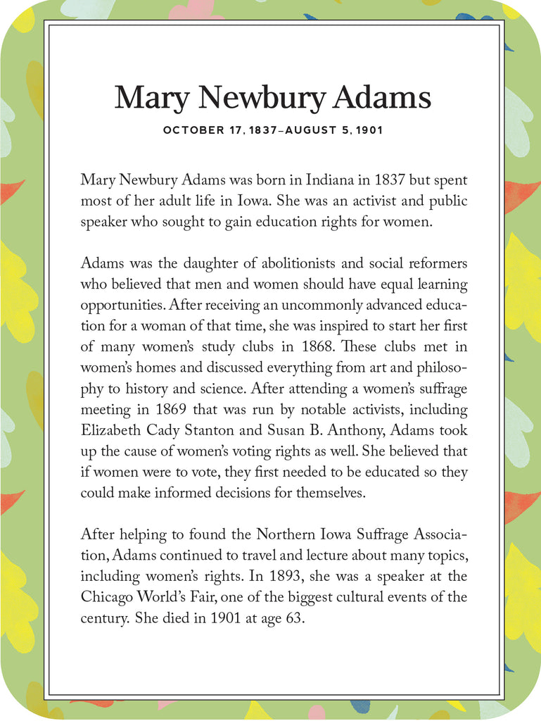 Mary Newbury Adams