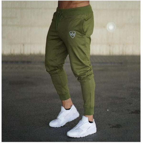 Men's Long Cotton Sweat Pants