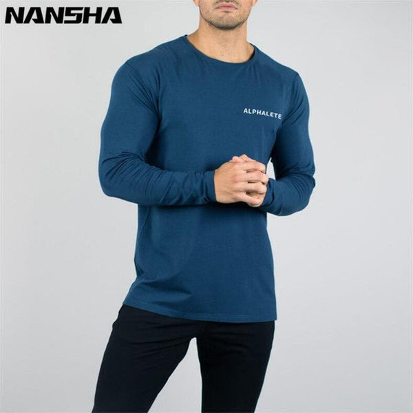Men's Long Sleeved Bodybuilding Jersey