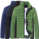 Mens Lightweight Casual Warm Jacket