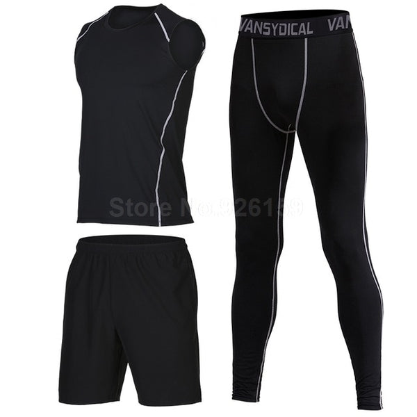 Mens 3 Piece Sportswear Suits