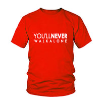 You'll Never Walk Alone Liverpool Football Club T-shirt