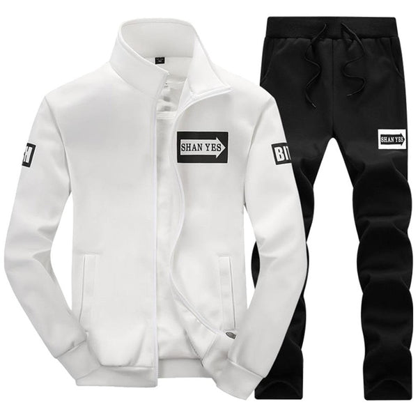 Men Sportswear Autumn/Winter Tracksuit Set