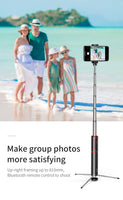 Bluetooth Portable Handheld Selfie Stick For Smart Phones