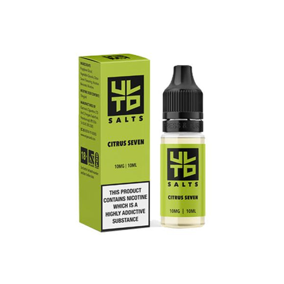 ULTD Nic Salt 10ml (60VG/40PG) 10mg