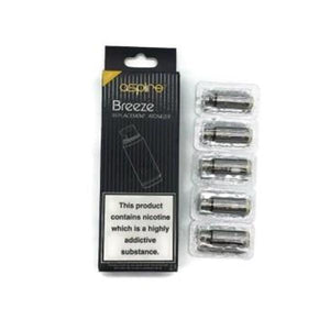 Aspire Breeze 0.6 Ohm Coil - Single Coil (Discount on Packs)