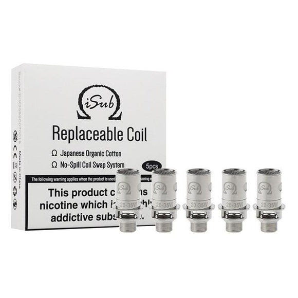 Innokin iSub Coil - 0.2/0.5/1.0/1.2/2.0 Ohm - Single Coil (Discount on Packs)