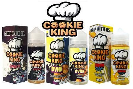 Cookie King 100ml Shortfill (70vg/30pg)