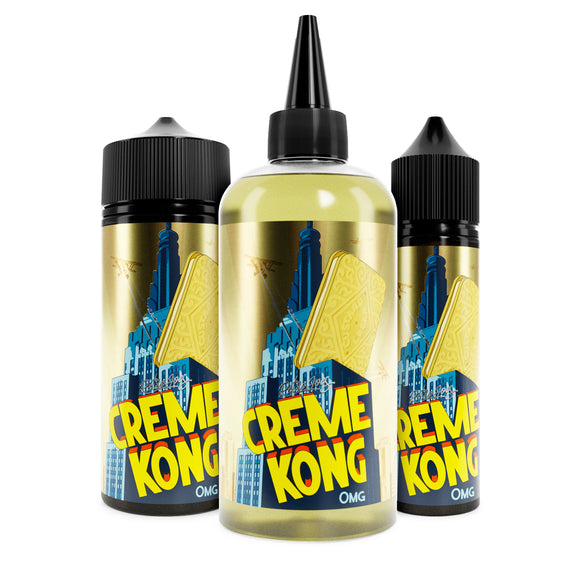 Retro Joe's Creme Kong E-liquid Shortfill (0mg) 200ml