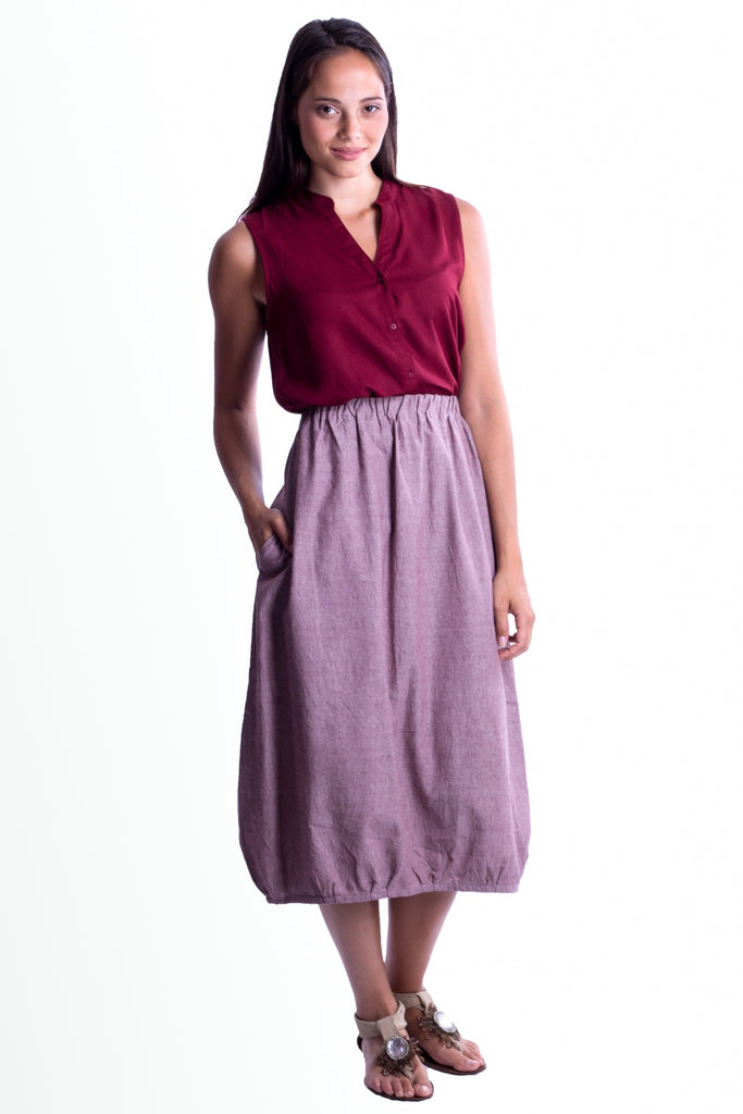 Drichu  - Skirt - Light Purple