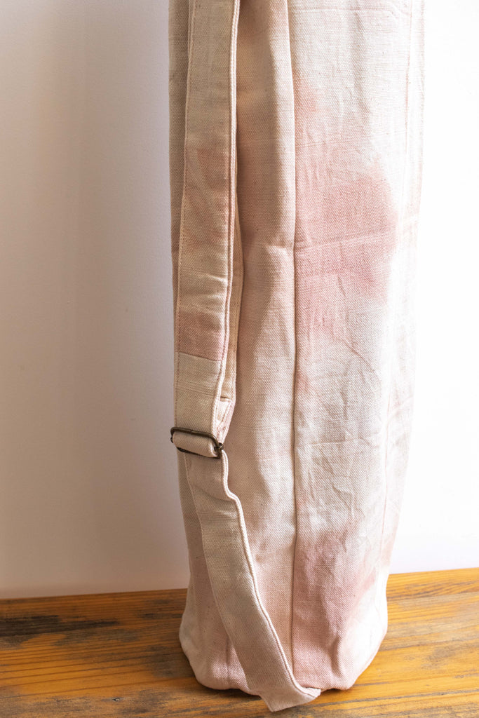 Tie Dye Yoga Mat Bag Marble Light Pink Munimuni