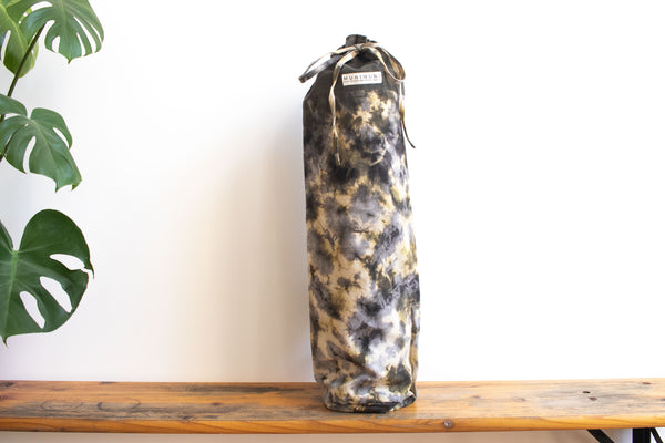 Tie Dye Yoga Mat Bag - Football Geen/Gray/ Yellow - MuniMuni