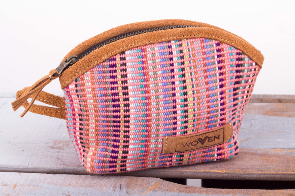 M-Purse -  Light Pink Recycle Pattern - MuniMuni