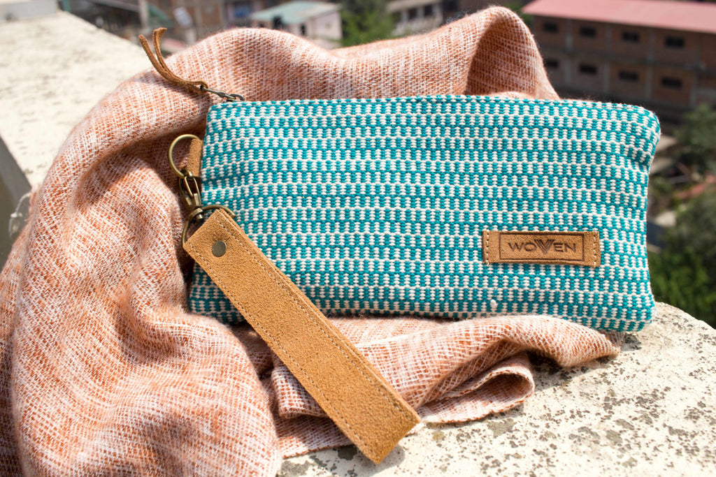 Wallet - Green Finer Pattern - MuniMuni