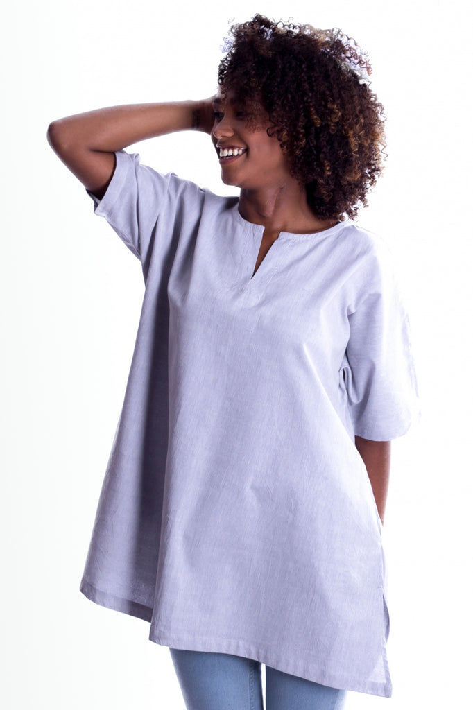 MuniMuni Tunic - Light Blue - MuniMuni