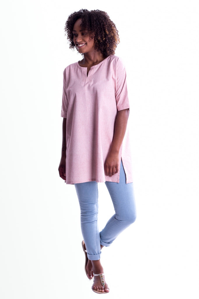 MuniMuni Tunic - Light Pink - MuniMuni