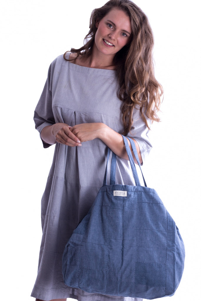 Patch bag - Jeans Blue - MuniMuni