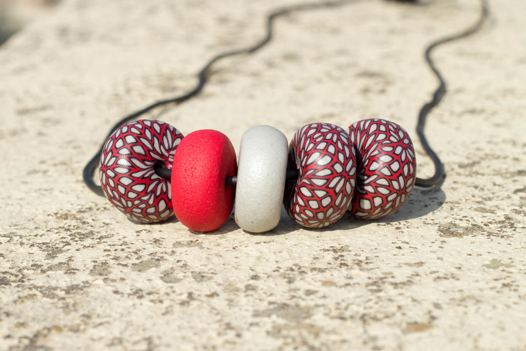 Rondelle - Moroccan 5 beads - MuniMuni