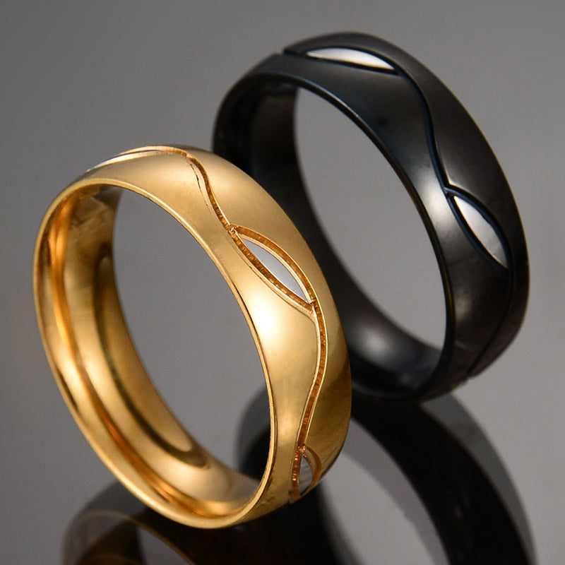 Geometric couple ring - BEAUVAN