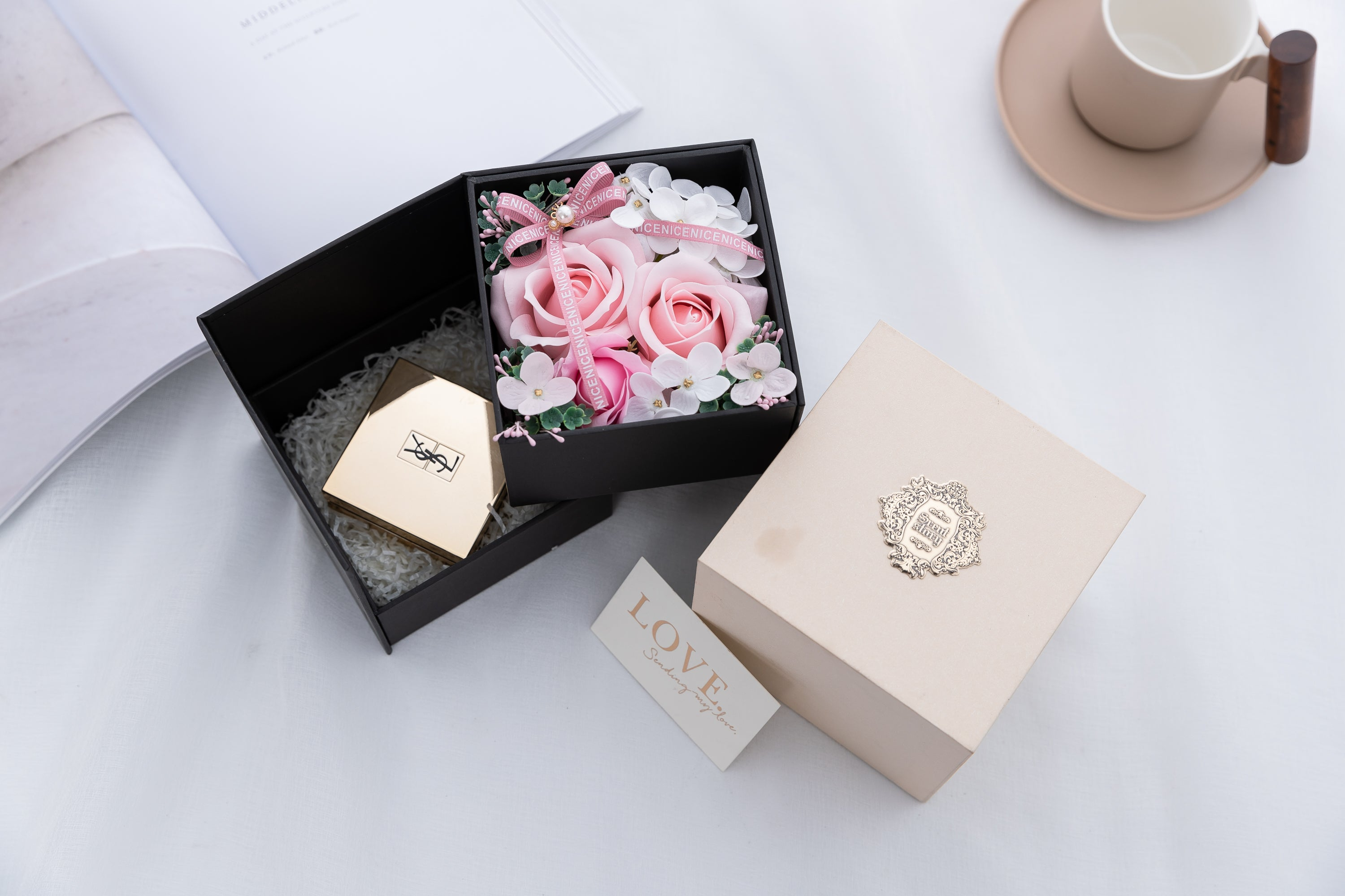 Best Gifts for Her,Preserved Flower Rose,Never Withered Roses,Upscale Immortal Flowers - BEAUVAN