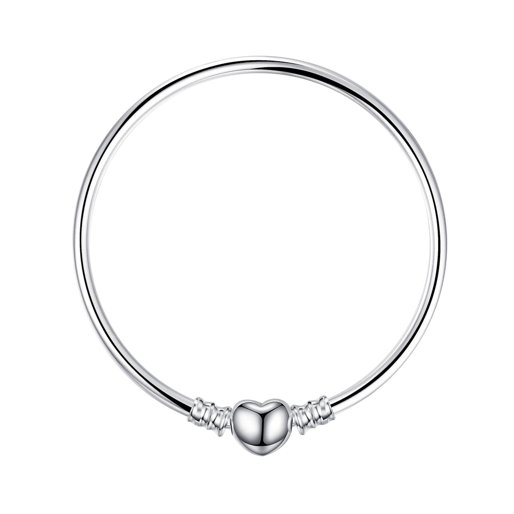 Original 925 Sterling Silver Chain Bangle Bracelets For Women - BEAUVAN