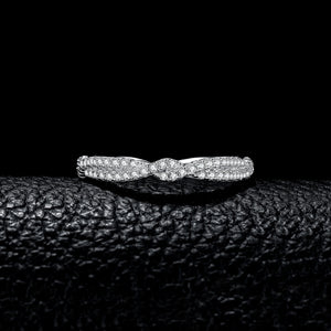Wedding Rings for Women Stackable Anniversary Ring Eternity Band - BEAUVAN
