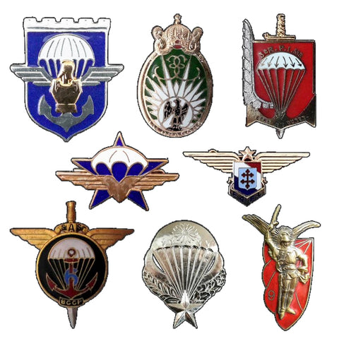 INSIGNES METALIQUES / ARMED FORCES BADGES