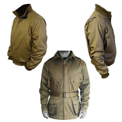 VETEMENTS MILITAIRES VINTAGES / ARMED FORCES VINTAGE CLOTHINGS