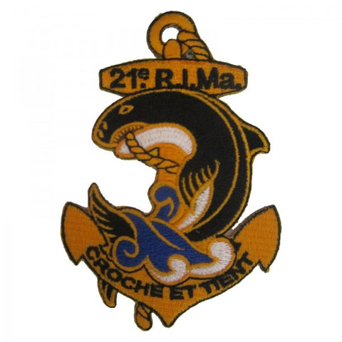 Patch / Ecusson 21ème RIMa (Régiment d'Infanterie de Marine)