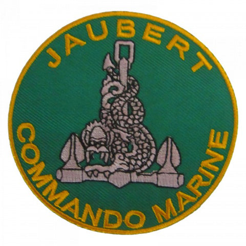 Patch / Ecusson Commando Marine Jaubert (Type 1)