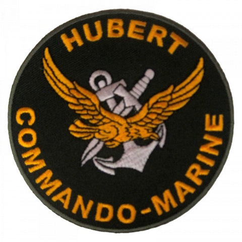 Patch / Ecusson Commando Marine Hubert