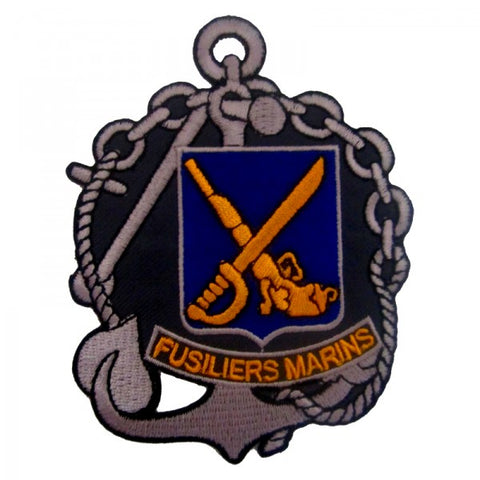 Patch / Ecusson Fusiliers Marins