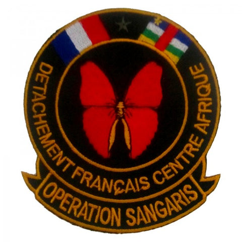 Patch / Ecusson Opération Sangaris (1ère version)