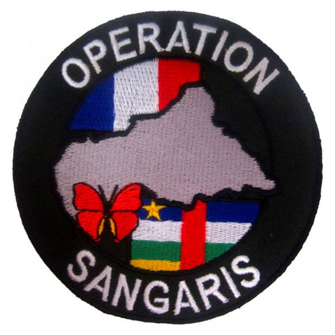 Patch / Ecusson Opération Sangaris (2ème version)