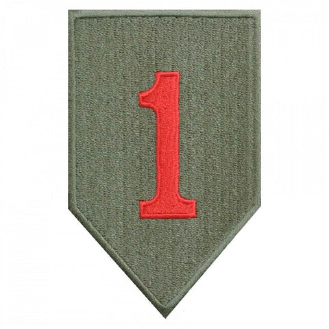 "Patch / Ecusson 1st Infantry Division ""Big Red One"""