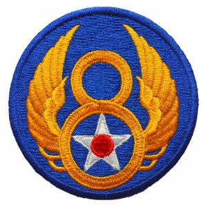 Patch / Ecusson 8th USAAF (United States Army Air Force)