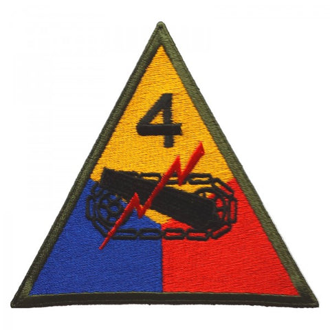 Patch / Ecusson 4th Armored Division (Division Blindée)