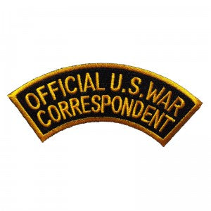 Patch / Ecusson Official U.S. War Correspondent