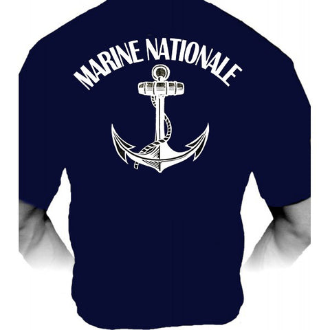 Tee-Shirt Marine Nationale Française