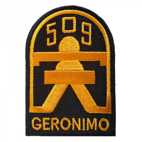 "Patch / Ecusson 509th P.I.R. ""Geronimo"""