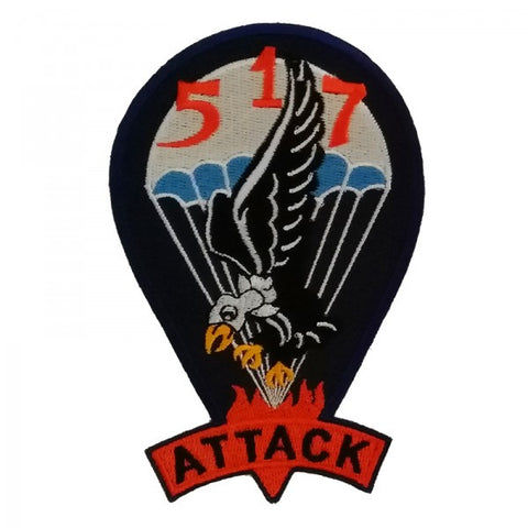 Patch / Ecusson 517th PRCT (Parachute Regimental Combat Team)