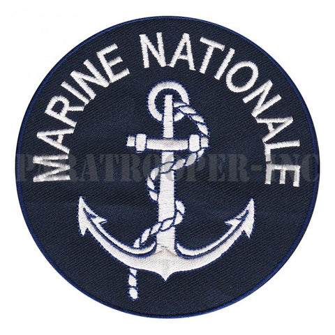 Patch / Ecusson Marine Nationale Fançaise