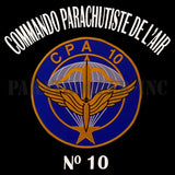 Polo Shirt CPA 10 (Commando parachutiste de l'air)