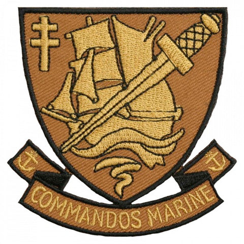 Patch / Ecusson Commandos Marine