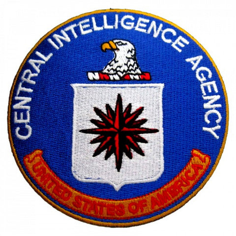 Patch / Ecusson C.I.A. (Central Intelligence Agency)