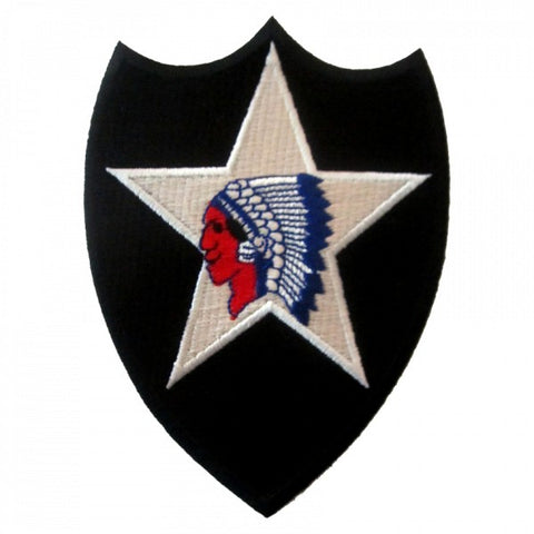 "Patch / Ecusson 2nd Infantry Division ""Indian Head"""