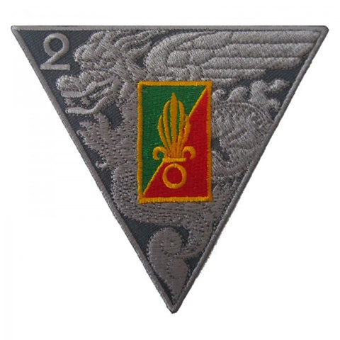 Patch / Ecusson 2ème REP (Régiment Etranger Parachutistes) Type 3