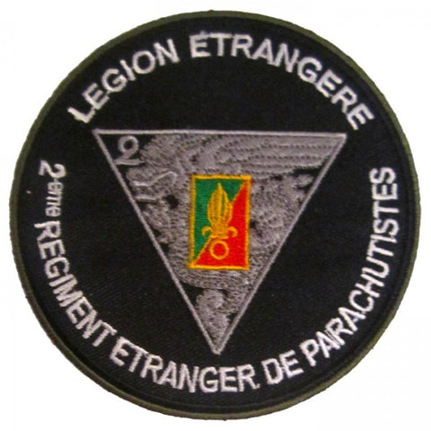 Patch / Ecusson 2ème REP (Régiment Etranger Parachutistes)