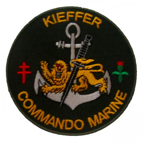 Patch / Ecusson Commando Marine de Kieffer