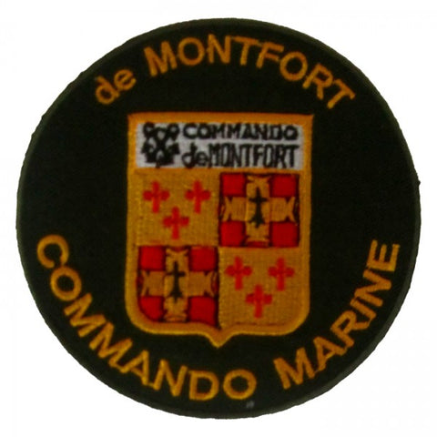 Patch / Ecusson Commando Marine de Montfort